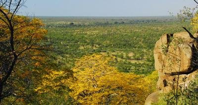 View from Tshanga Lookout