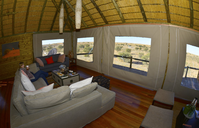 Cosy lounge with a view at Rooiputs
