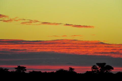 sunrise at Gharagab