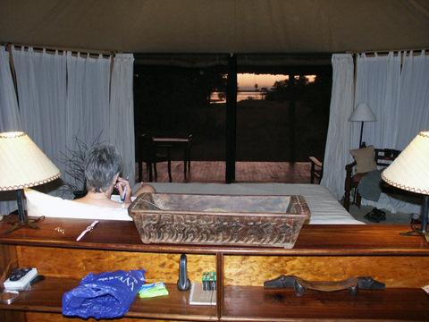 Selous tented camp