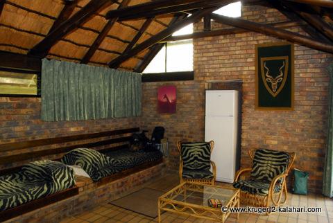 Berg en Dal camp bungalow interior