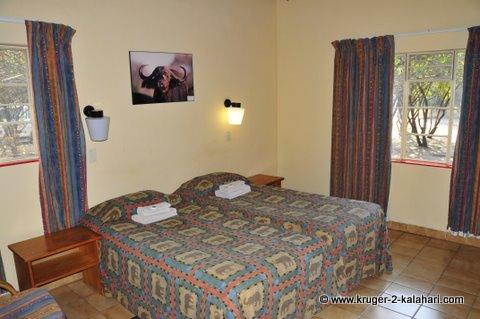 Bedroom of Biyamiti bungalow