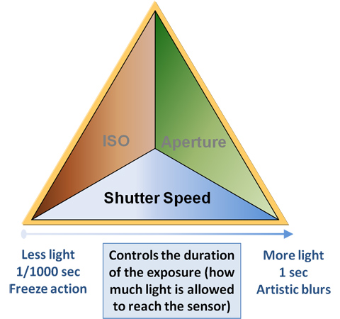 shutter speed in nature photography