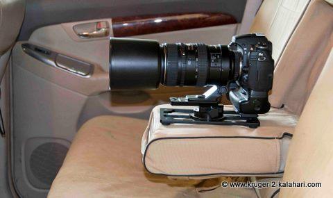 Nikon 80-400 in back of 4X4