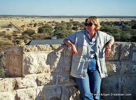Jeans and Safari Vest in Etosha
