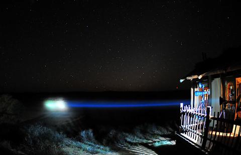 Lightforce spot at Kalahari Tented Camp
