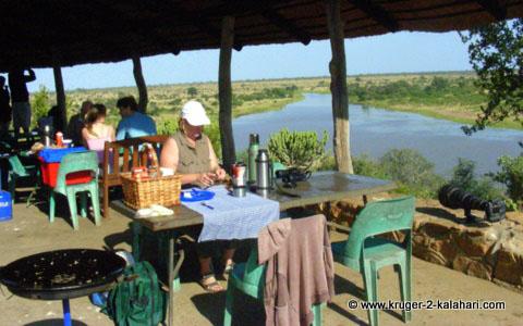 Mlondozi Picnic site Kruger park