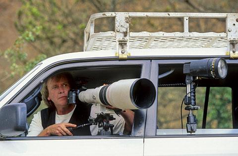 Nigel Dennis - 600mm Canon lens
