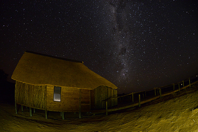 Starry night over Rooiputs unit