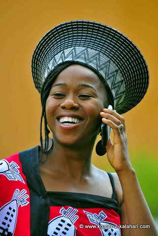 Traditional Swazi dress