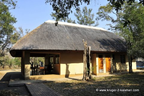 Bungalow at Talamati bushcamp