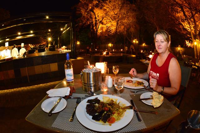 Dinner in the Lapa