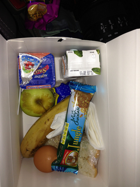 Protea Hotel does a mean breakfast box