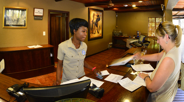 A warm welcome at Protea Hotel