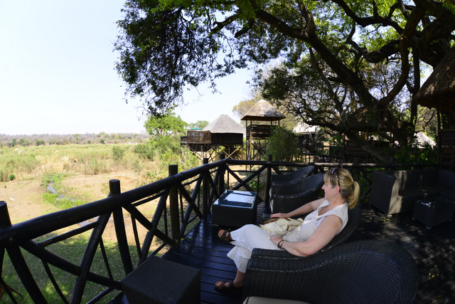 view into Kruger from Protea Hotels viewing deck